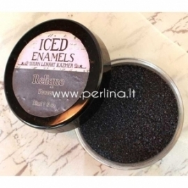 "Iced enamels relique powder ""Relique Pewter"", 15 ml"