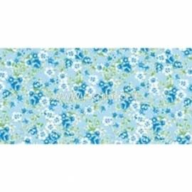 """Plonas dekoravimo popierius """"Green & White Flowers"""", 30x40 cm, 3 vnt."""