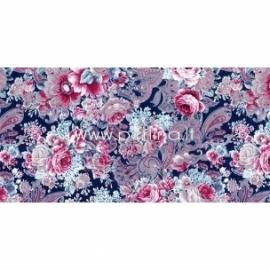 """Plonas dekoravimo popierius """"Lush Flowers"""", 30x40 cm, 3 vnt."""