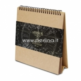 "Pastatomas kartoninis albumas ""Easel Album"", 20,3x20,3x6,4 cm"