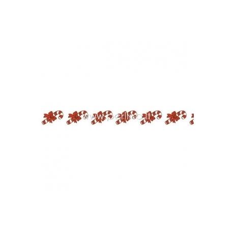 """Lipni popierinė juostelė """"Christmas Sweets"""", 8 m"""