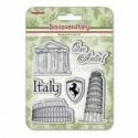"Akrilinis antspaudas ""Discover Italy. Italy"", 6 vnt"