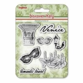 "Akrilinis antspaudas ""Discover Italy. Venice"", 7 vnt"