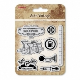 """Akrilinis antspaudas """"Auto Vintage. Motor"""", 8 vnt"""
