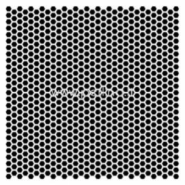"Plastikinis trafaretas ""Mini Tesselar pattern"", 15,2x15,2 cm."