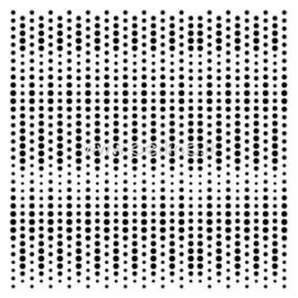"""Plastikinis trafaretas """"Matrix"""", 15,2x15,2 cm."""