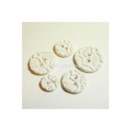 Keramikinė saga, balta, 2,2 cm