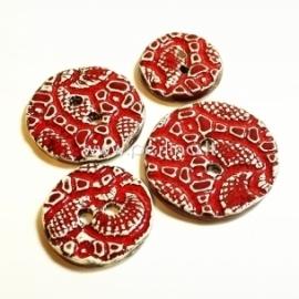 Keramikinė saga, raudona, 4 cm