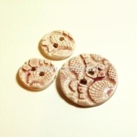 Keramikinė saga, rožinė, 2,2 cm