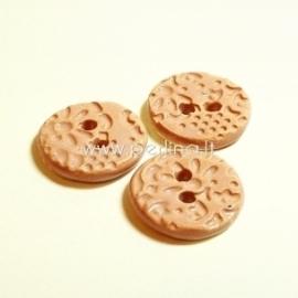 Keramikinė saga, rožinė matinė, 2,2 cm
