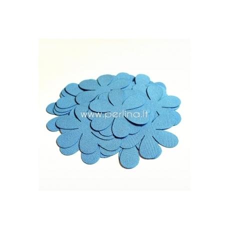 Medžiaginė gėlytė, žydra sp., 1 vnt., dydis pasirenkamas