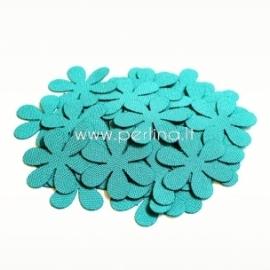 Medžiaginė gėlytė, mėlyna turkio sp., 1 vnt., dydis pasirenkamas