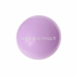 Akrilinis kabošonas, šv. violetinė sp., 15 mm