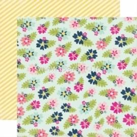 """Popierius """"Fancy Floral - Splendid Sunshine"""", 30,5x30,5 cm"""