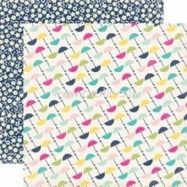 """Popierius """"Umbrella - Splendid Sunshine"""", 30,5x30,5 cm"""