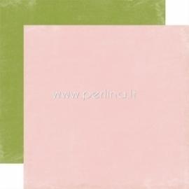 "Popierius ""Lt.Pink / Green - Splendid Sunshine"", 30,5x30,5 cm"