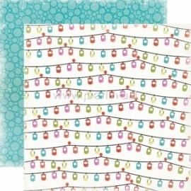 "Paper ""Gondolas - Summer Lovin'"", 30,5x30,5 cm"