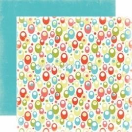 """Popierius """"Sunshine - Summer Lovin'"""", 30,5x30,5 cm"""
