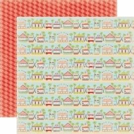 "Popierius ""Boardwalk - Summer Lovin'"", 30,5x30,5 cm"