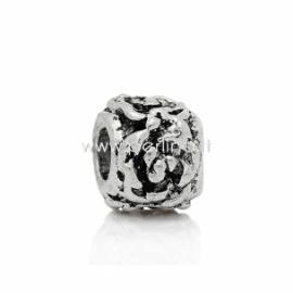 Pandora karoliukas, ant.sidabro sp., 11x9 mm