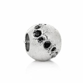 Pandora karoliukas, ant.sidabro sp., 12x10 mm