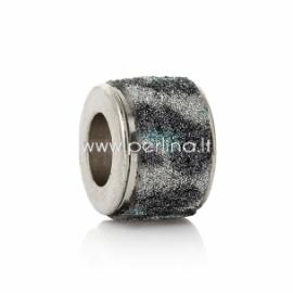 Pandora karoliukas, CCB plastikas, 11x8 mm