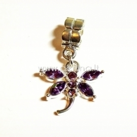 """Pandora pakabukas """"Laumžirgis"""", šviesiai violetinės sp., 31x20 mm"""