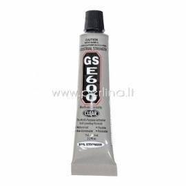"""Rankdarbių klijai """"GS E600"""", skaidrūs, 9 ml"""