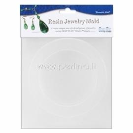 """Plastikinė formelė """"Bangle Bracelet"""", 9,3x6,6x1,6 cm"""