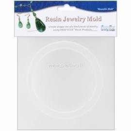 "Resin Jewelry Mold ""Bangle Bracelet"", 8,3x6,5x1,7 cm"