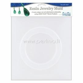 """Plastikinė formelė """"Bangle Bracelet"""", 7,9x6x1 cm"""