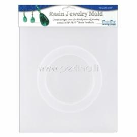 """Plastikinė formelė """"Bangle Bracelet"""", 7,9x5,9x1,2 cm"""