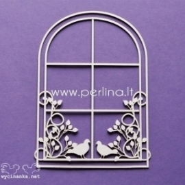 """Chipboard """"Beauty - window"""", 1 pc"""