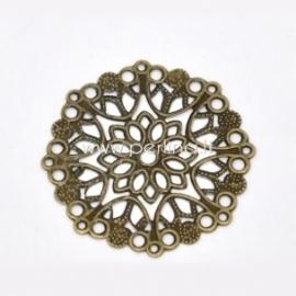 Ažūrinė plokštelė, ant. bronzos sp., 35 mm