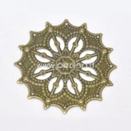 Ažūrinė plokštelė, ant. bronzos sp., 43 mm