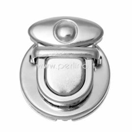 Rankinės užsegimas, sidabro sp., 30x30 mm