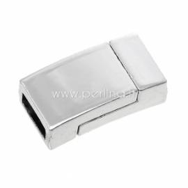 Užsegimas magnetinis, sidabro sp., 17x9 mm