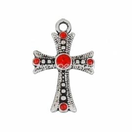 """Pakabukas """"Kryžius"""", ant.sidabro sp., 26x17 mm"""