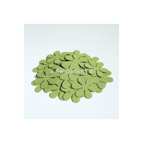 Medžiaginė gėlytė, šv.žalia / salotinė sp., 1 vnt., dydis pasirenkamas