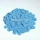 Medžiaginė gėlytė, ryški žydra sp., 1 vnt., dydis pasirenkamas