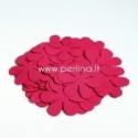 Medžiaginė gėlytė, ryški rožinė sp., 1 vnt., dydis pasirenkamas