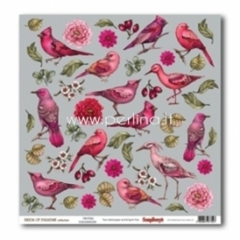 "Popierius ""Twitter - Birds of Paradise"", 30,5x30,5 cm"