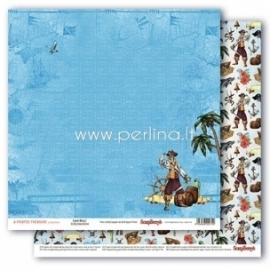 "Popierius ""Land Ahoy! - The Pirate's Treasure collection"", 30,5x30,5 cm"