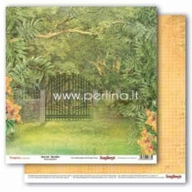"Popierius ""Secret Garden - Tropics collection"", 30,5x30,5 cm"