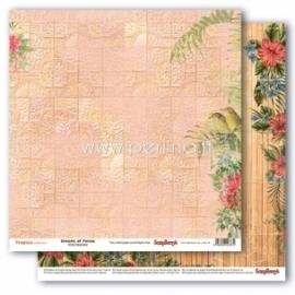 "Popierius ""Dreams of Persia - Tropics collection"", 30,5x30,5 cm"