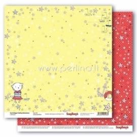 "Paper ""Star Girl - Zoe & Ziggy's Sailing Adventures collection"", 30,5x30,5 cm"