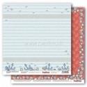 "Popierius ""Anchors & Seashells - Zoe & Ziggy's Sailing Adventures collection"", 30,5x30,5 cm"