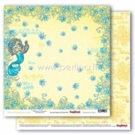 "Paper ""Mermaid Treasures - Ocean Enchantment collection"", 30,5x30,5 cm"