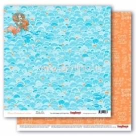 "Paper ""Ocean Love - Ocean Enchantment collection"", 30,5x30,5 cm"