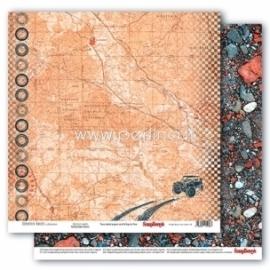 "Paper ""Adventure Awaits - Adventure Awaits collection"", 30,5x30,5 cm"